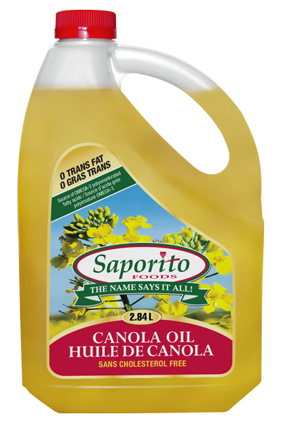 Canola Oil | Saporito Foods Ltd