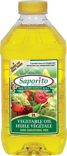 Vegetable Oil | Sapori...